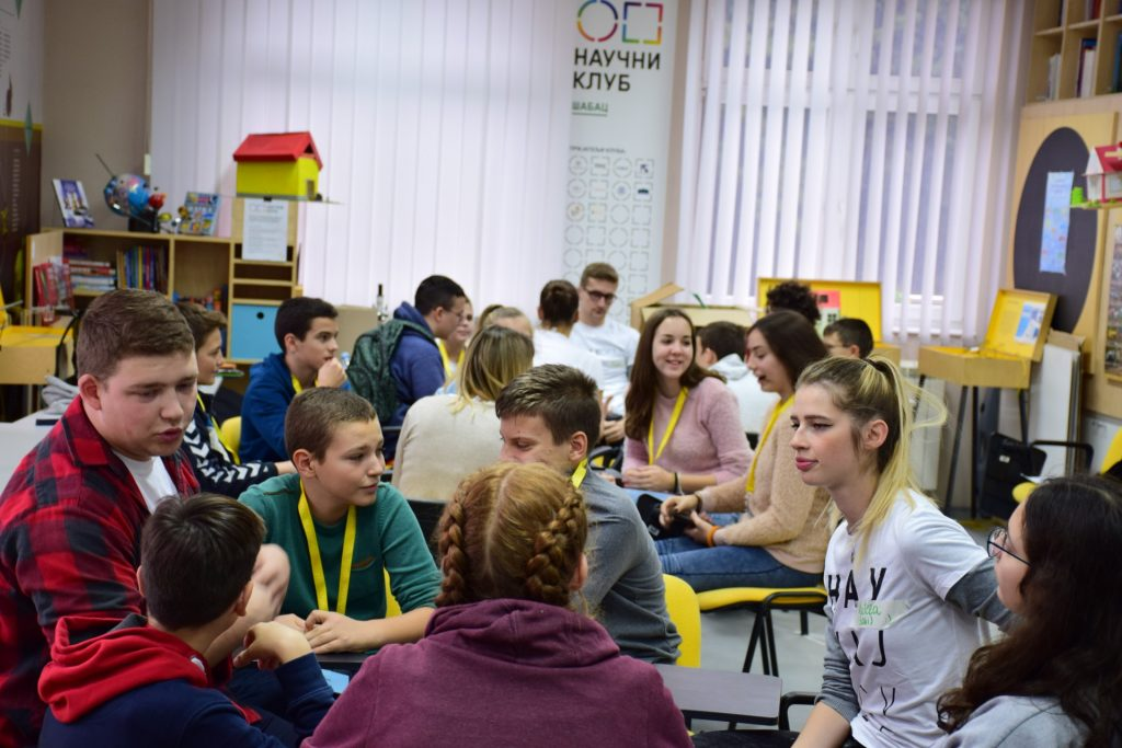 Young learners in Serbia attend a science camp