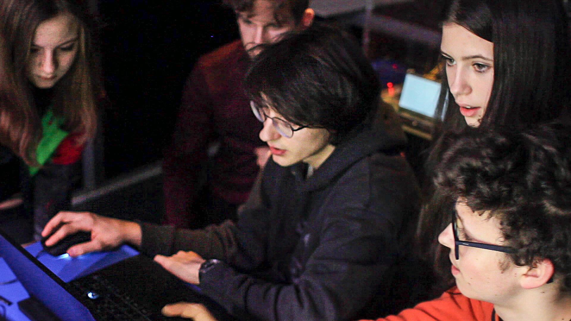 Learners at Kersnikova